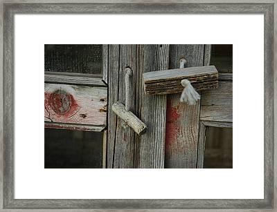Silent Memory Framed Print by Lori Mellen-Pagliaro