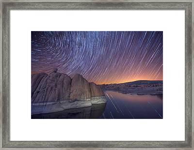 Silent Momentum Framed Print by Theresa Rose Ditson