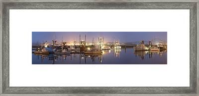 Early Morning Harbor II Framed Print