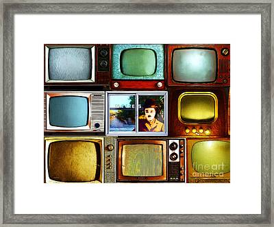 Silent Movies 20150928 Framed Print by Wingsdomain Art and Photography