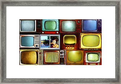 Silent Movies 20150928long Framed Print by Wingsdomain Art and Photography