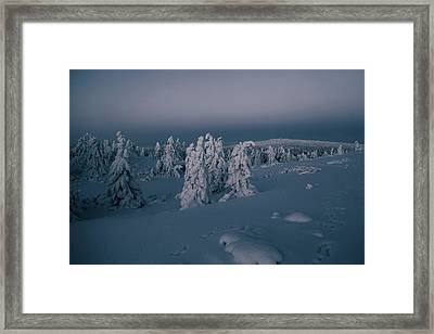 Silent Night Framed Print by Aldona Pivoriene