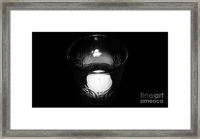 Silent Night Light Framed Print