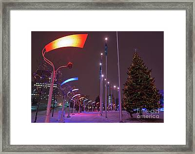 Framed Print featuring the photograph Silent Night.. by Nina Stavlund