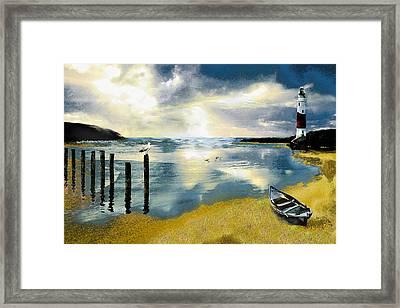 Silent Ocean Framed Print by Anne Weirich