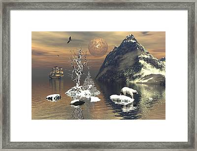 Silent Passage Framed Print by Claude McCoy