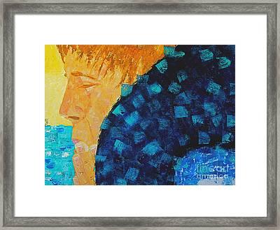 Silent Prayer Framed Print