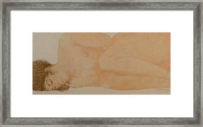 Silent Repose Framed Print by Gary Kaemmer