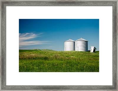 Silent Ridge Framed Print