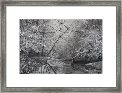 Silent Running Framed Print