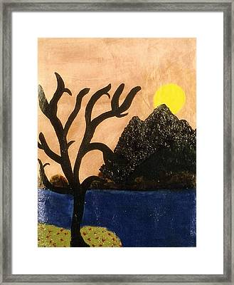 Silent Framed Print by Ruth  El