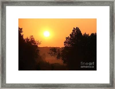 Silent Sun Framed Print