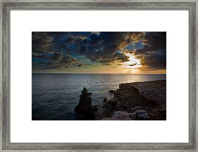 Silent Sunset Framed Print by Patrick  Flynn