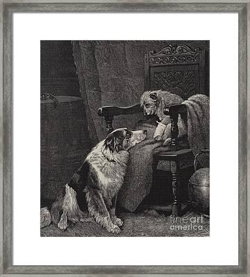 Silent Sympathy Framed Print by Arthur Batt