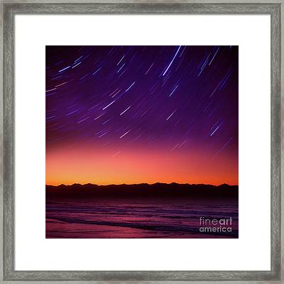 Silent Time Framed Print
