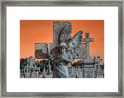 Silent Vigil Framed Print