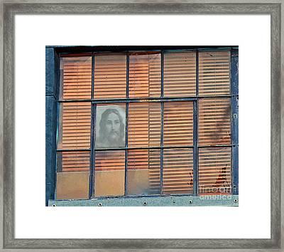 Silently Calling Framed Print