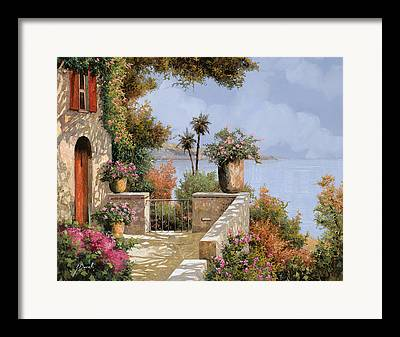 Elba Framed Prints