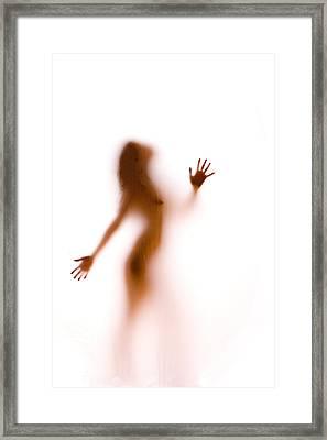 Silhouette 27 Framed Print