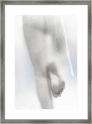 Silhouette #7422 Framed Print