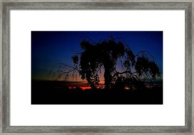 Silhouette Framed Print by Kevin D Davis