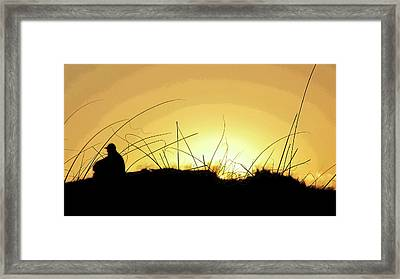 Lonely Times Framed Print