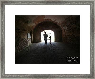 Silhouettes  Framed Print by Barb Montanye Meseroll