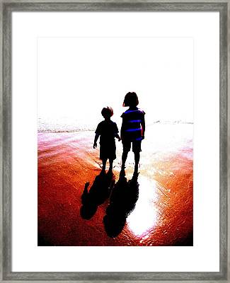 Silhouettes Framed Print by Tim Tanis