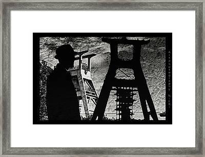 Silickose Framed Print by Nicole Frischlich