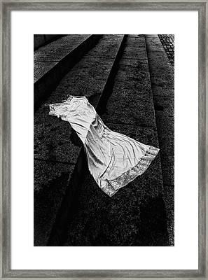 Silk And Stone Framed Print
