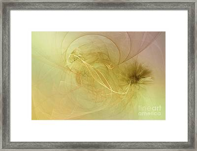 Framed Print featuring the photograph Silk Dream by Elaine Manley