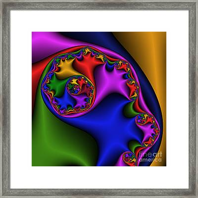 Silk Ear 185 Framed Print by Rolf Bertram