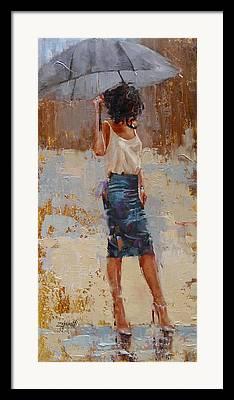 Skirt Framed Prints