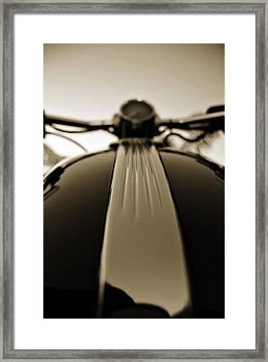 Silky Lines Framed Print by Mark Weaver