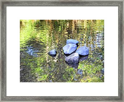 Silky Serenity Framed Print