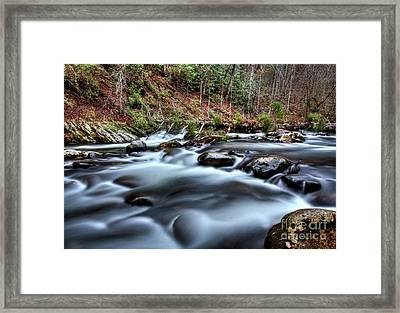 Framed Print featuring the photograph Silky Smooth by Douglas Stucky