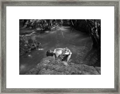 Sillans La Cascade Framed Print by Dan Andersson