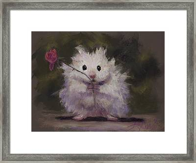 Silly Me Framed Print by Billie Colson