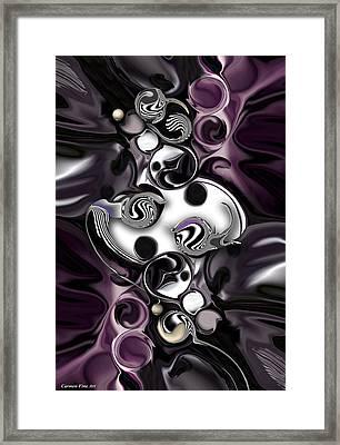 Silmulacrum Vs Dimensionality  Framed Print