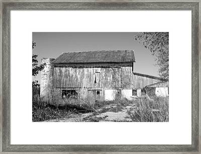 Silo Framed Print