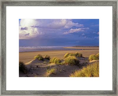 Siltcoos River Mouth Framed Print