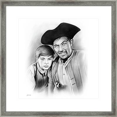 Silver And Hawkins Framed Print by Greg Joens