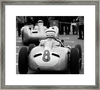 Silver Arrows Number 8 Framed Print