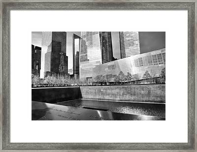 Reflections Of Absence Framed Print by Jessica Jenney