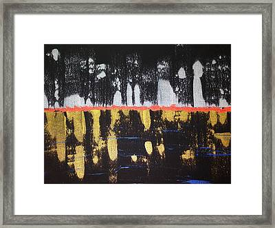 Silver City Framed Print