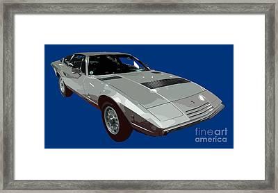 Silver Classic Sport Art Framed Print