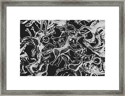 Silver Cup Framed Print