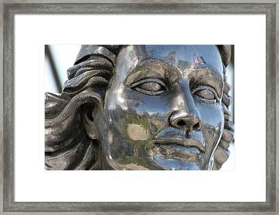 Silver Delores Del Rio Framed Print