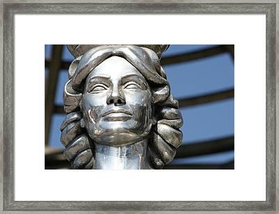 Silver Dorothy Dandridge Framed Print