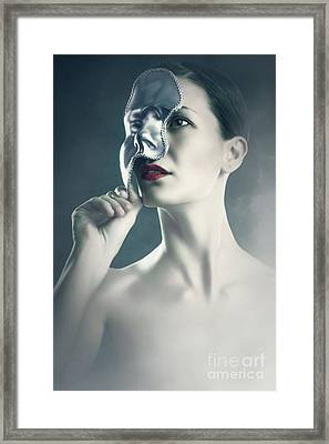 Framed Print featuring the photograph Silver Face by Dimitar Hristov